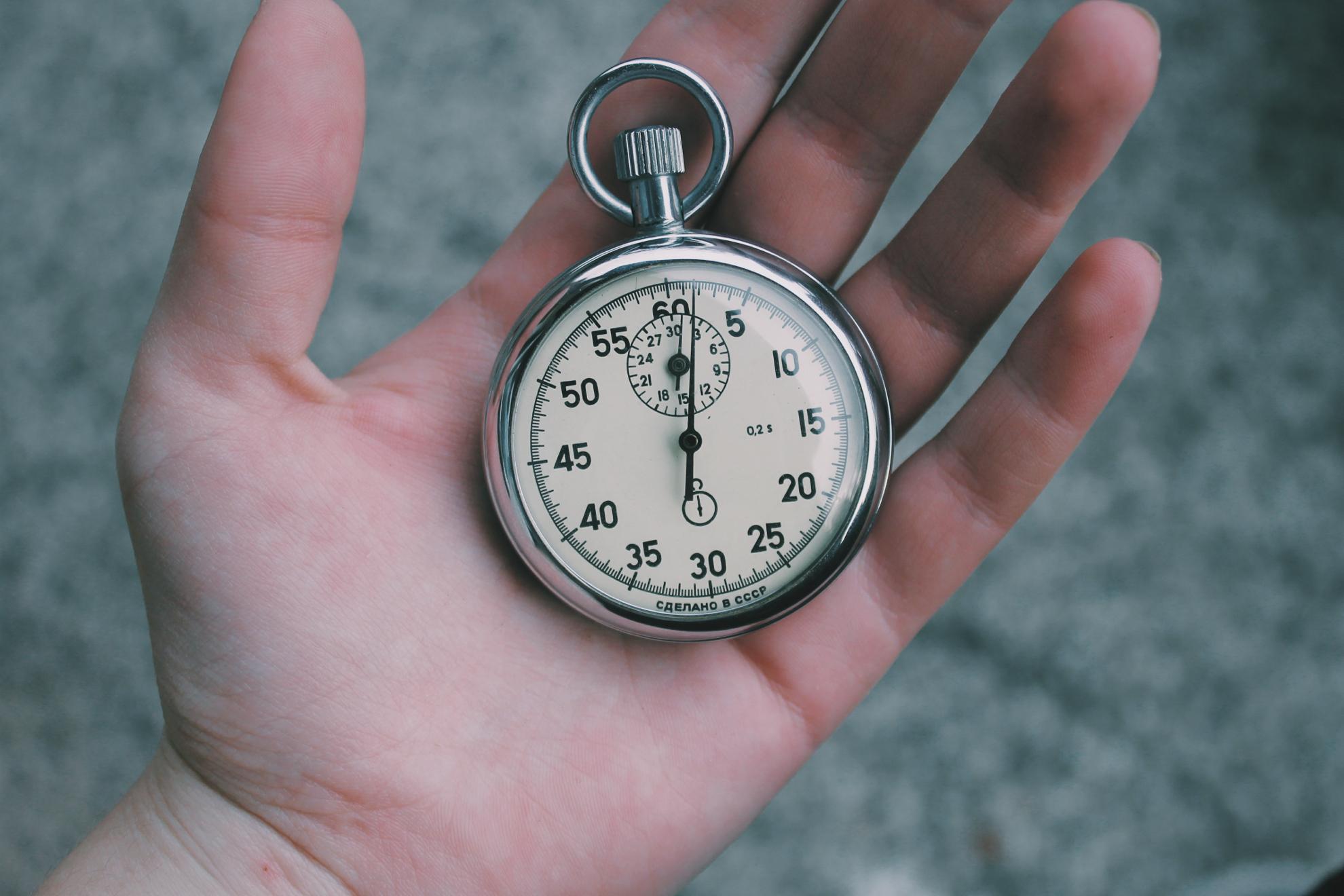 Zeitersparnis