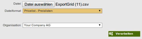 Preislisten Import8