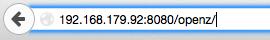 URL eingeben