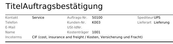 Bild 09: Neu angelegte Druck-konfiguration mit individuellem Titel