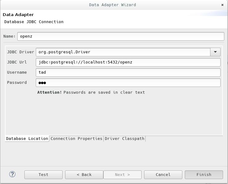 Datenbank-Adapter erstellen